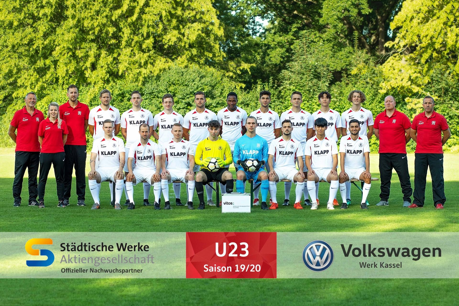U23 Mannschaft 2019_20