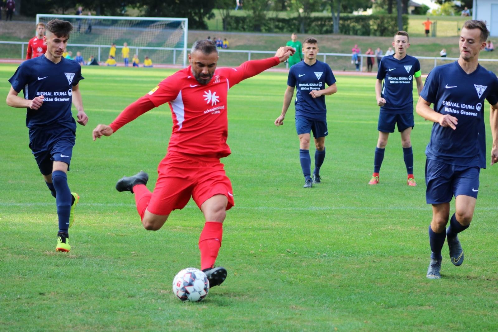 Löwen gewinnen Pokalspiel beim Kasseler SV