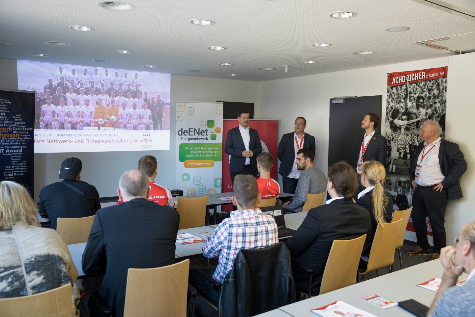Am Samstag, den 21.09.2019 findet das gemeinsame Netzwerktreffen von deENet, MoWiN.net und dem IT Netzwerk beim KSV Hessen Kassel im Auestadion statt.