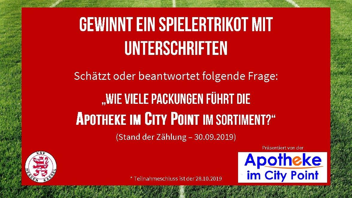 Gewinnspiel Apotheke im Citypoint