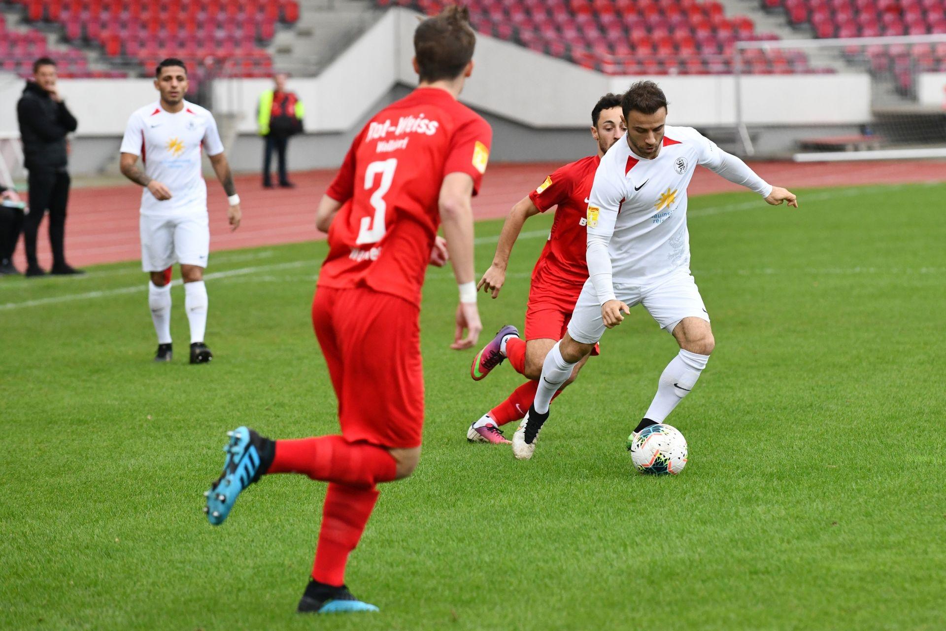 KSV Hessen Kassel, Rot-Weiss Walldorf, Endstand 4:0, Alban Meha (KSV Hessen Kassel)