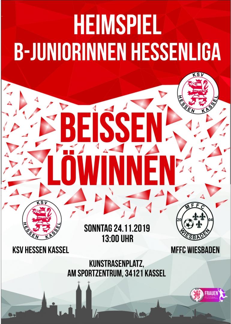 B-Juniorinnen - MFFC Wiesbaden
