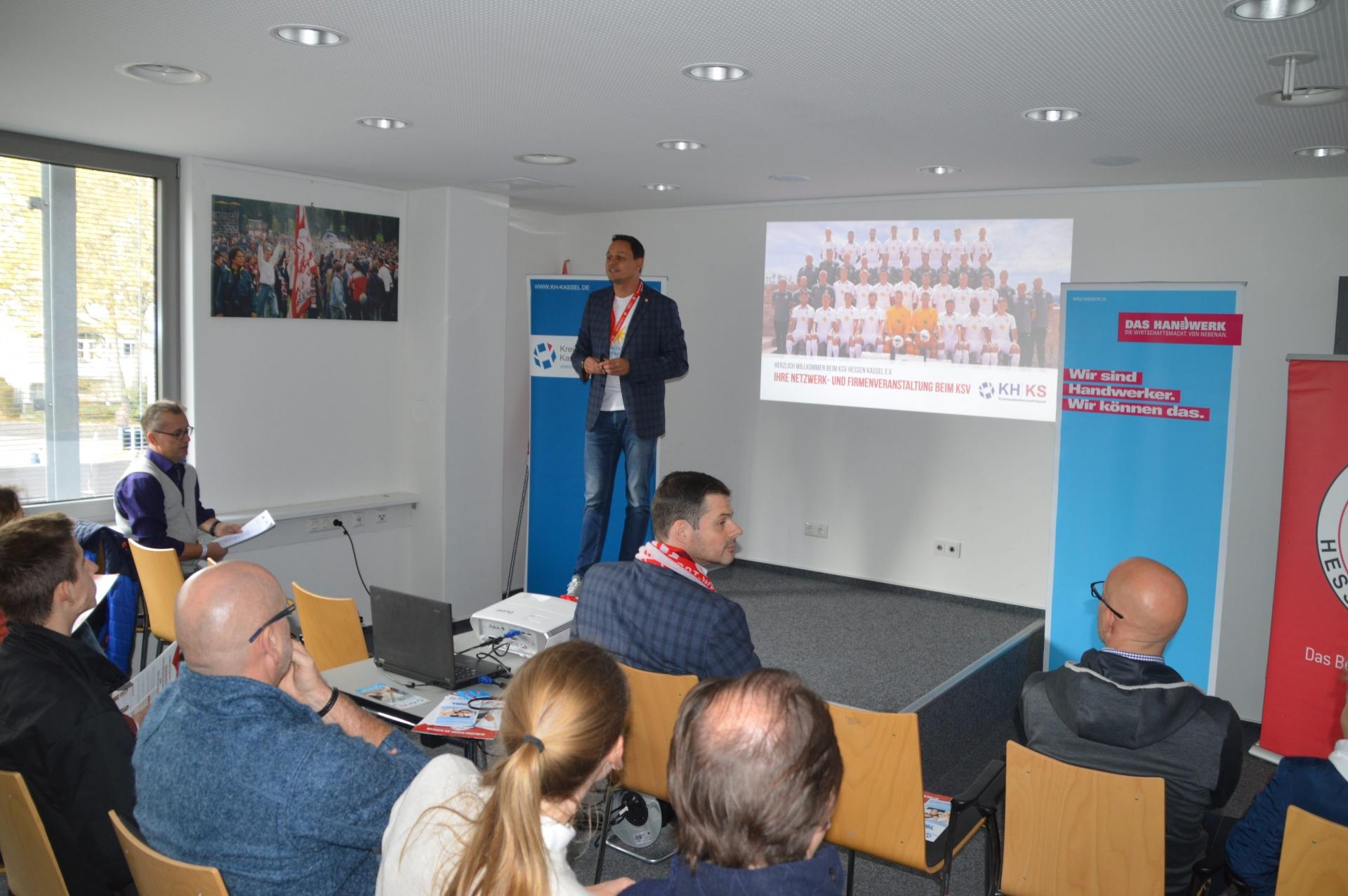 TOPAS Azubibegrüßung mit Kreishandwerkerschaft Kassel: Swen Meier