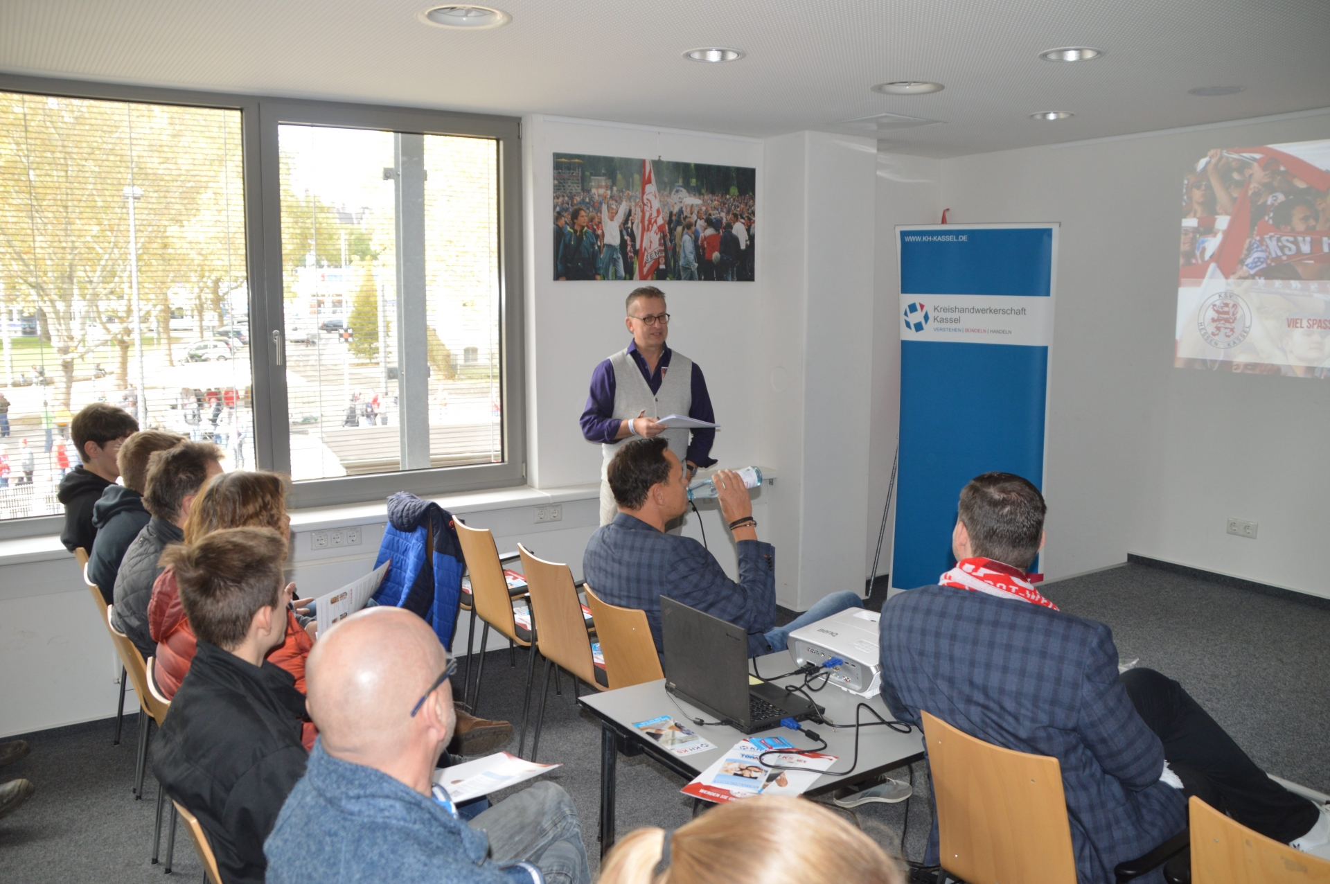 TOPAS Azubibegrüßung mit Kreishandwerkerschaft Kassel