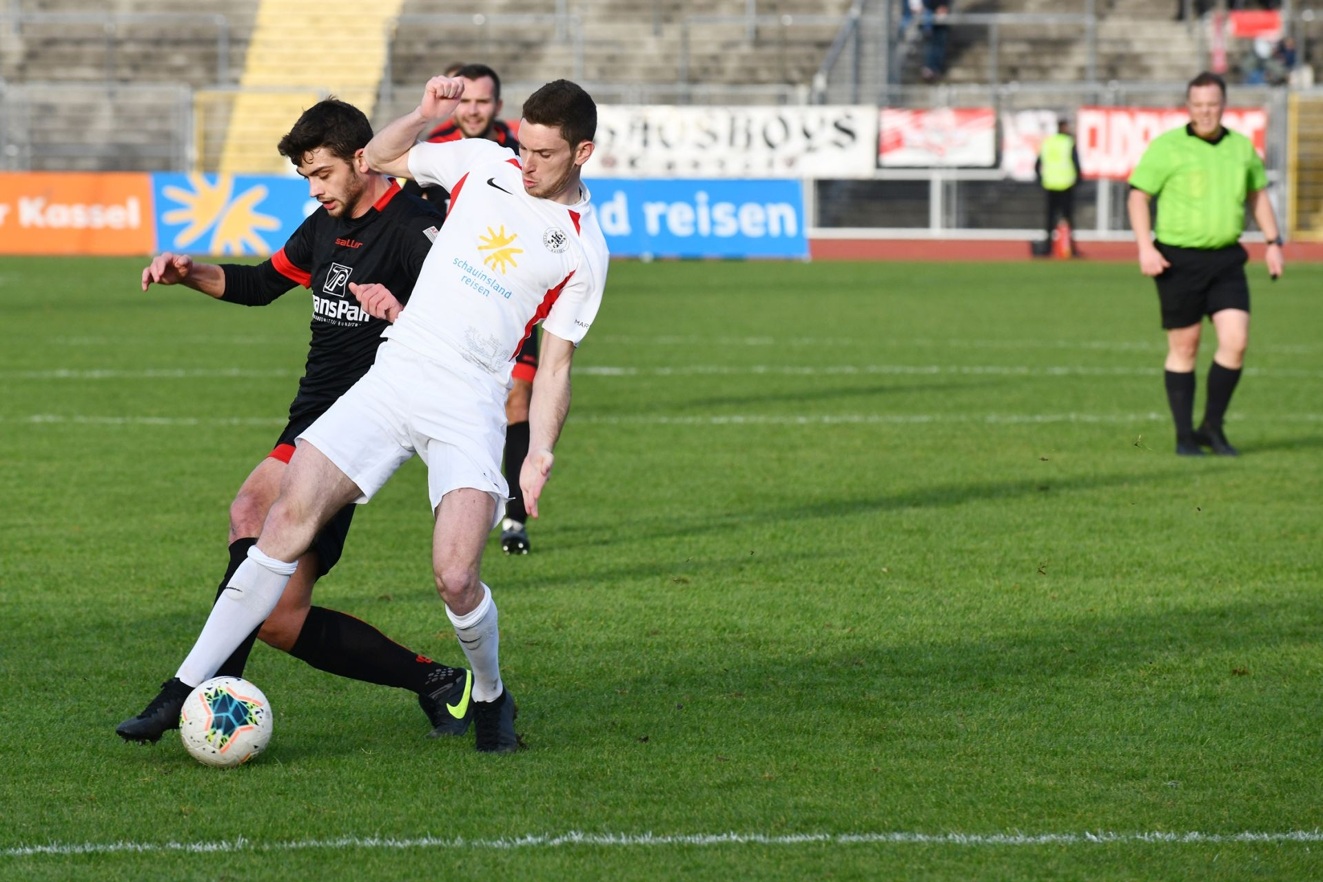 Lotto Hessenliga 2019/2020, KSV Hessen Kassel, SC Waldgirmes, Endstand 4:1, Lukas Iksal (KSV Hessen Kassel)