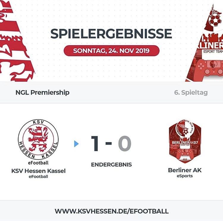 6. Spieltag NGL Pro Club Premiership