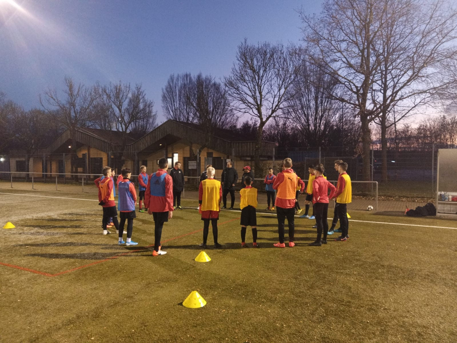 U15 Trainingsauftakt