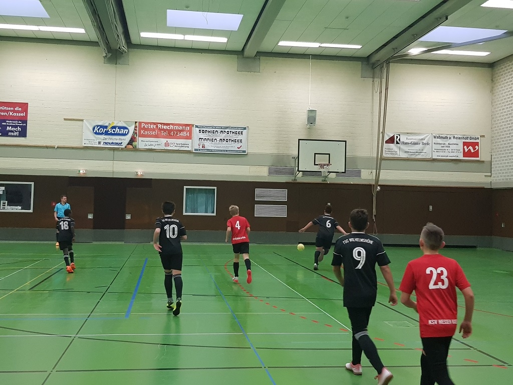 U12 I & II Kleeblatt Hallen Cup