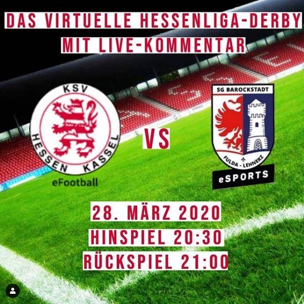 Virtuelles Hessenliga-Derby am Samstag