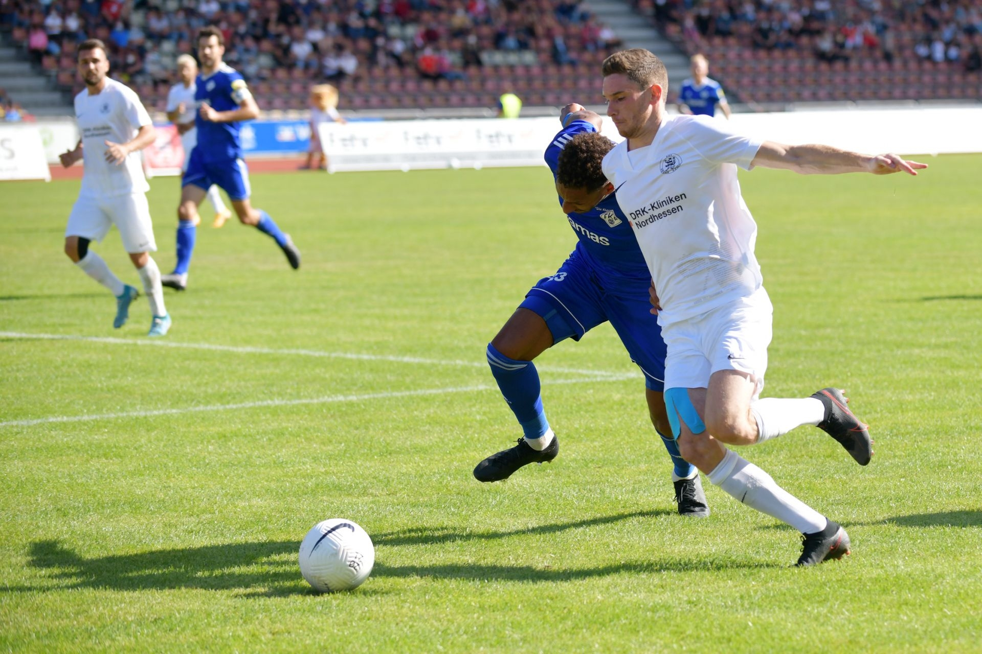 Regionalliga S�dwest 2020/21, KSV Hessen Kassel, FK 03 Pirmasens, Endstand 1:1