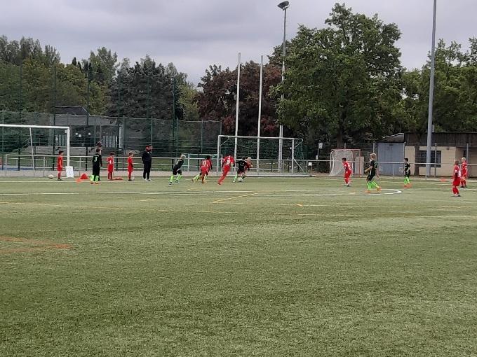 U10 rot - TSV Wolfsanger