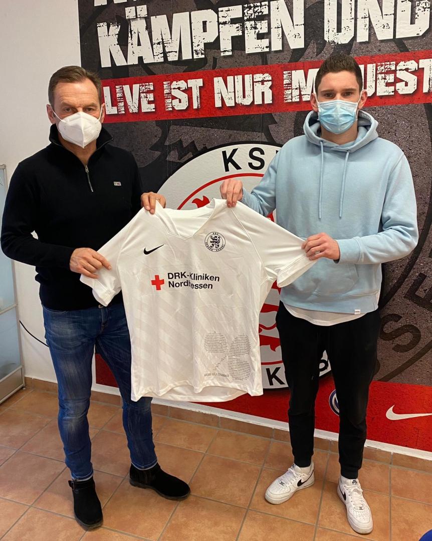 Lukas Iksal mit Jörg Müller