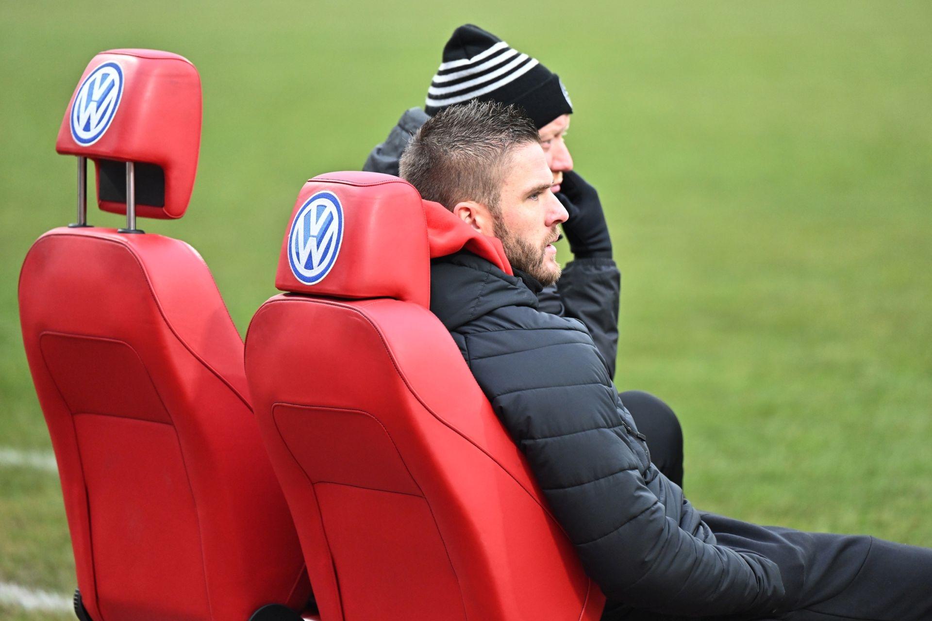 Regionalliga S�dwest 2020/21, KSV Hessen Kassel, SG Sonnenhof Grossaspach, Endstand 0:2, Tobias Damm, Sebastian Busch