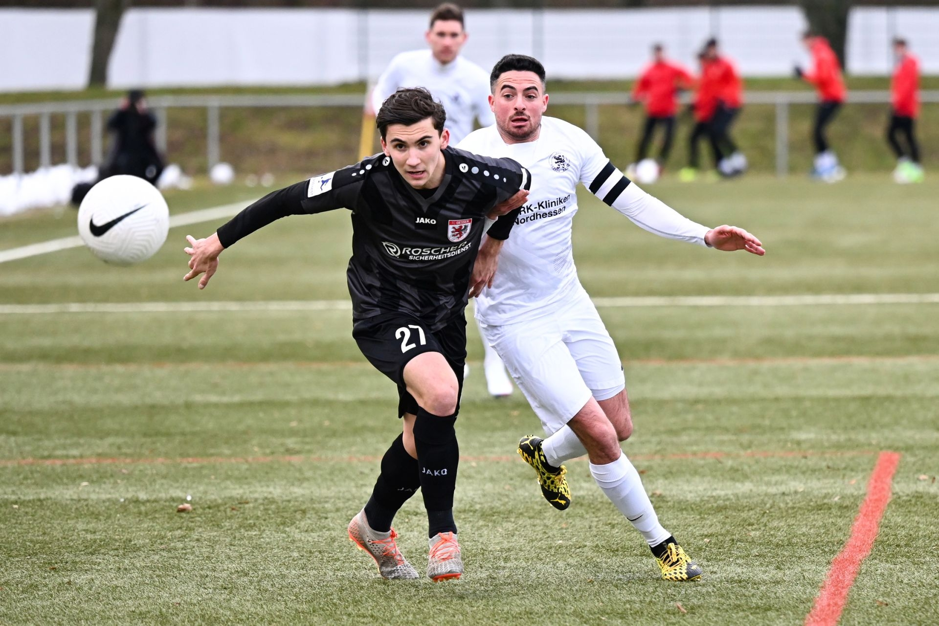Regionalliga Südwest 2020/21, KSVHessen Kassel, FC Gießen, Endstand 1:1, Adrian Bravo Sanchez