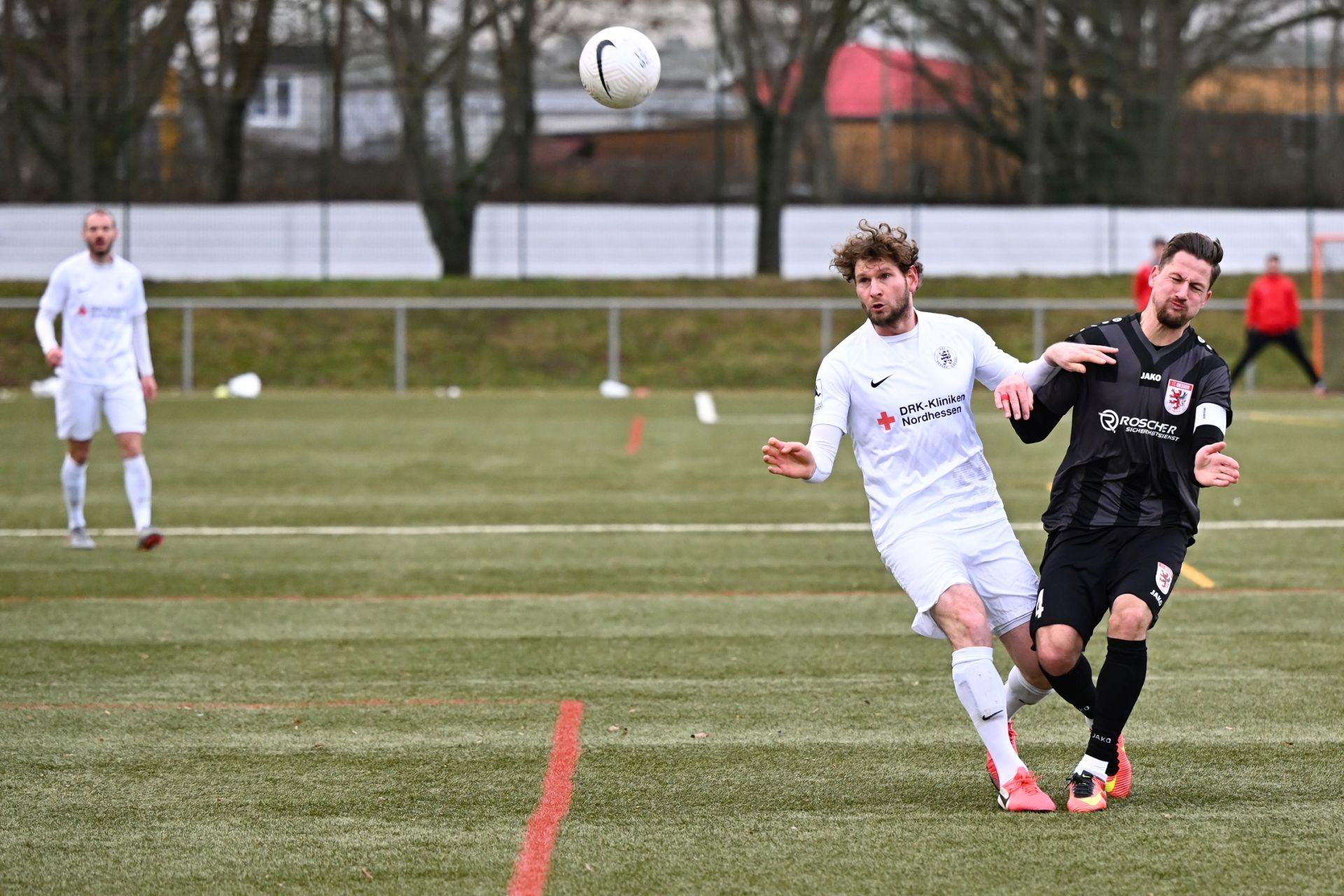 Regionalliga S�dwest 2020/21, KSVHessen Kassel, FC Giessen, Endstand 1:1