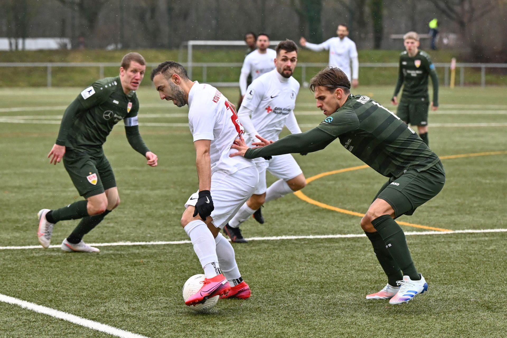 Regionalliga Südwest 2020/21, KSV Hessen Kassel, VfB Stuttgart II, Endstand 0:4, Mahir Saglik