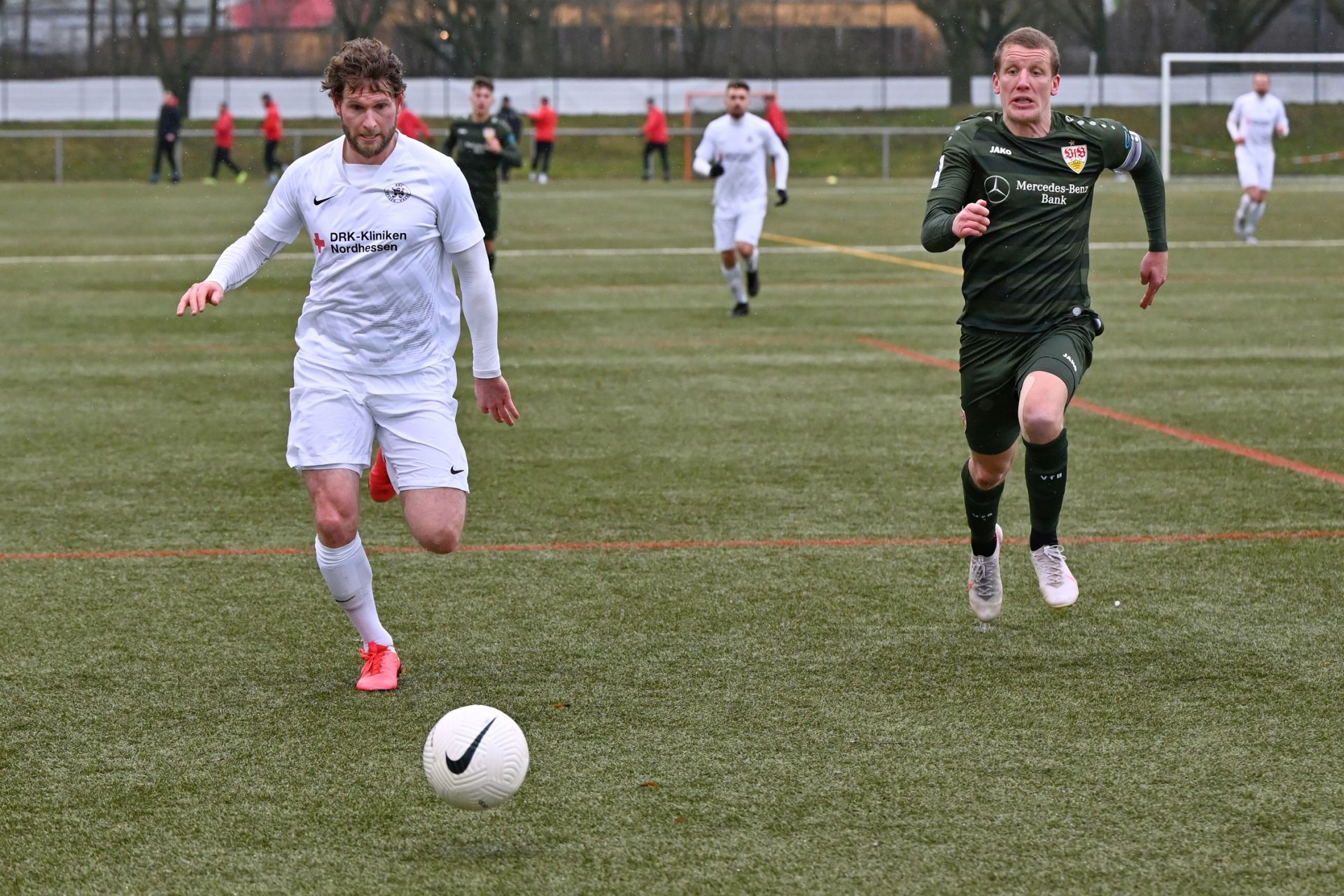 Regionalliga S�dwest 2020/21, KSV Hessen Kassel, VfB Stuttgart II, Endstand 0:4