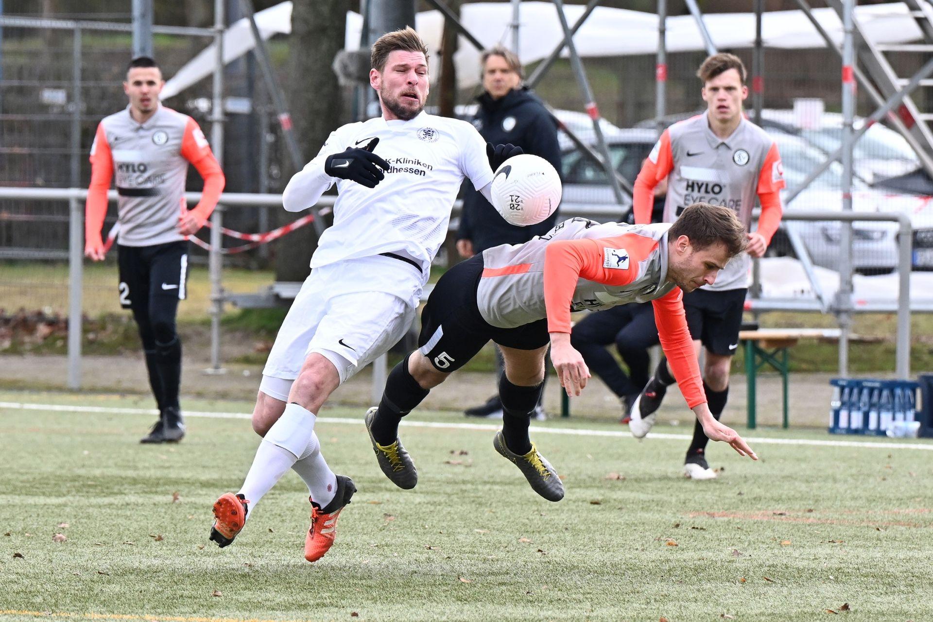 Regionalliga Südwest 2020/21, KSV Hessen Kassel, SV Elversberg, Endstand 0:2, Schmeer