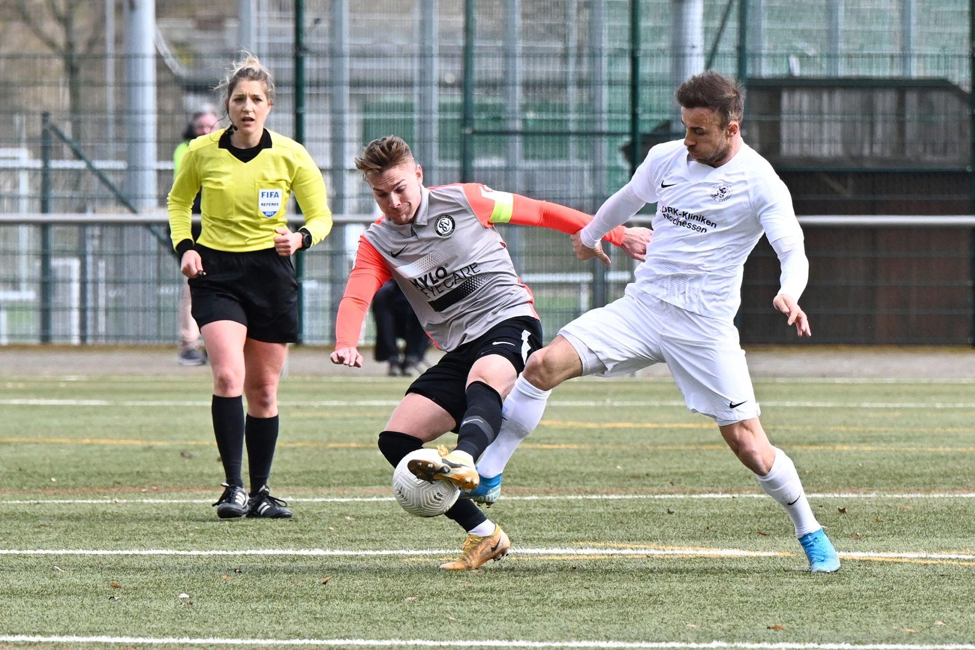 Regionalliga Südwest 2020/21, KSV Hessen Kassel, SV Elversberg, Endstand 0:2, Meha
