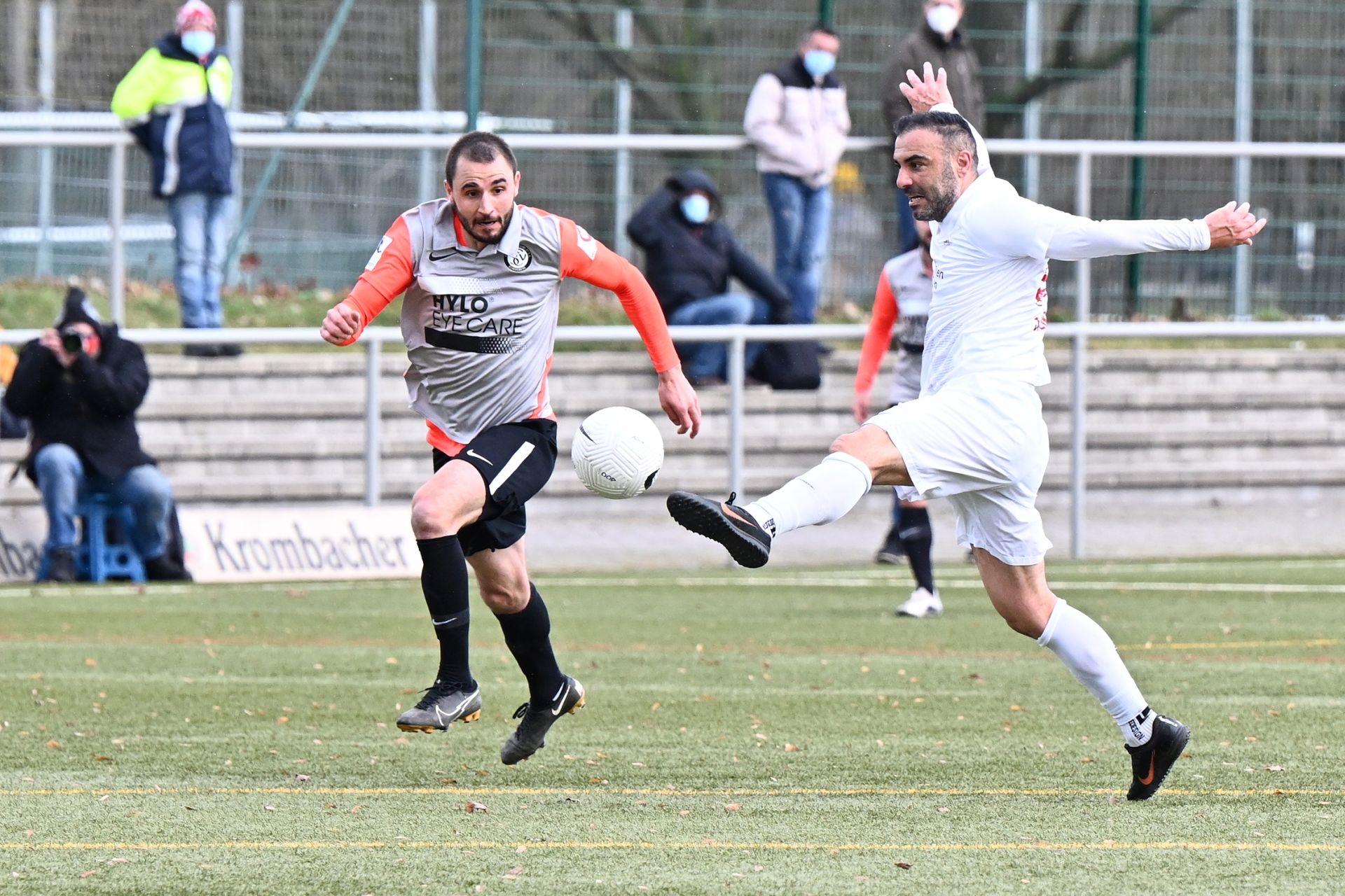 Regionalliga S�dwest 2020/21, KSV Hessen Kassel, SV Elversberg, Endstand 0:2