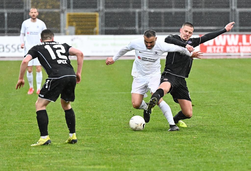 KSV Hessen - FSV Frankfurt: Saglik