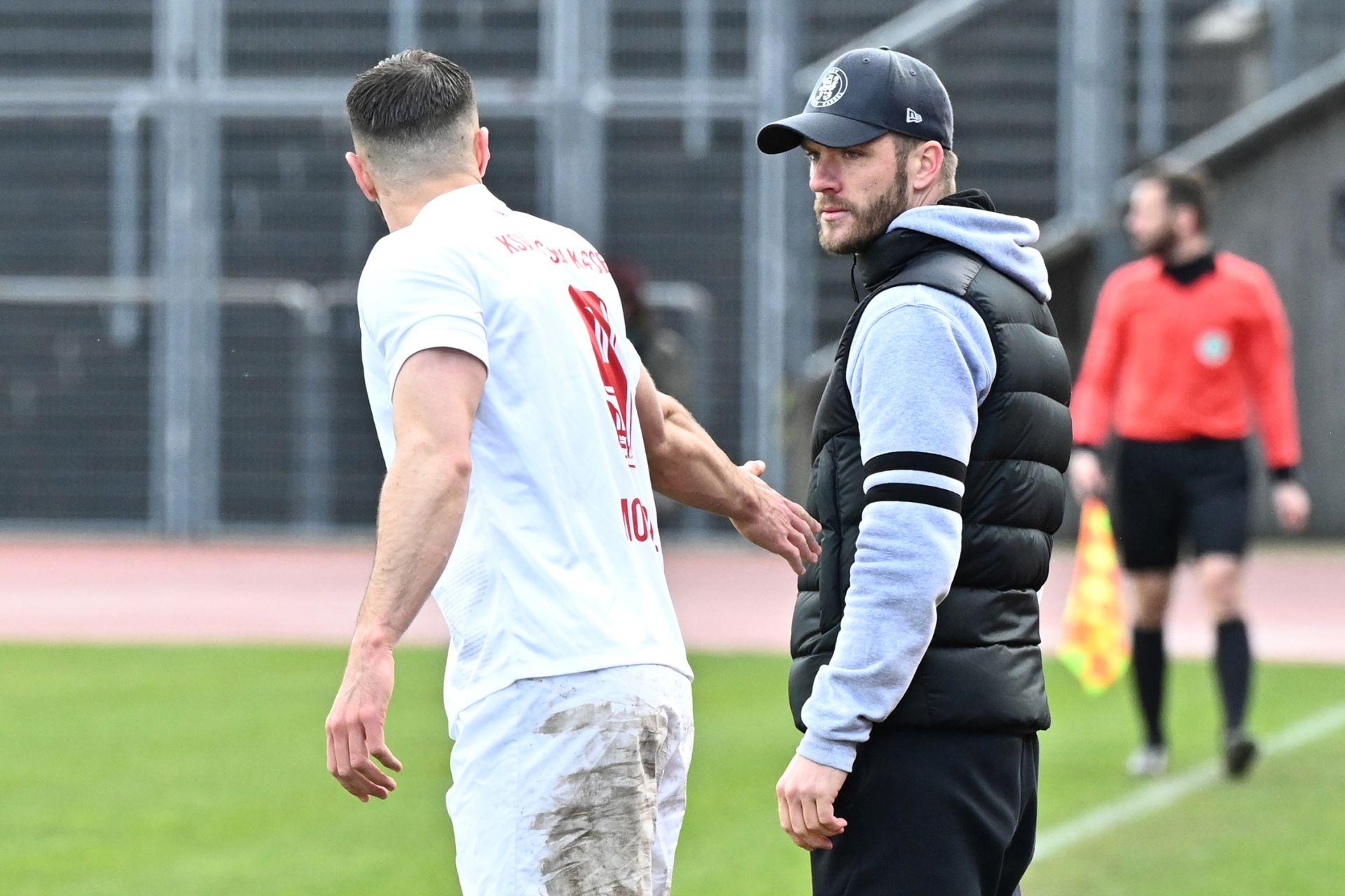 Regionalliga S�dwest 2020/21, KSV Hessen Kassel, FSV Frankfurt, Endstand 2:1