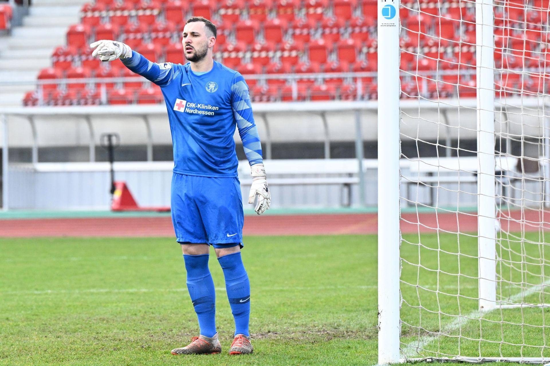 Regionalliga Südwest 2020/21, KSV Hessen Kassel, FSV Frankfurt, Endstand 2:1, Max Zunker