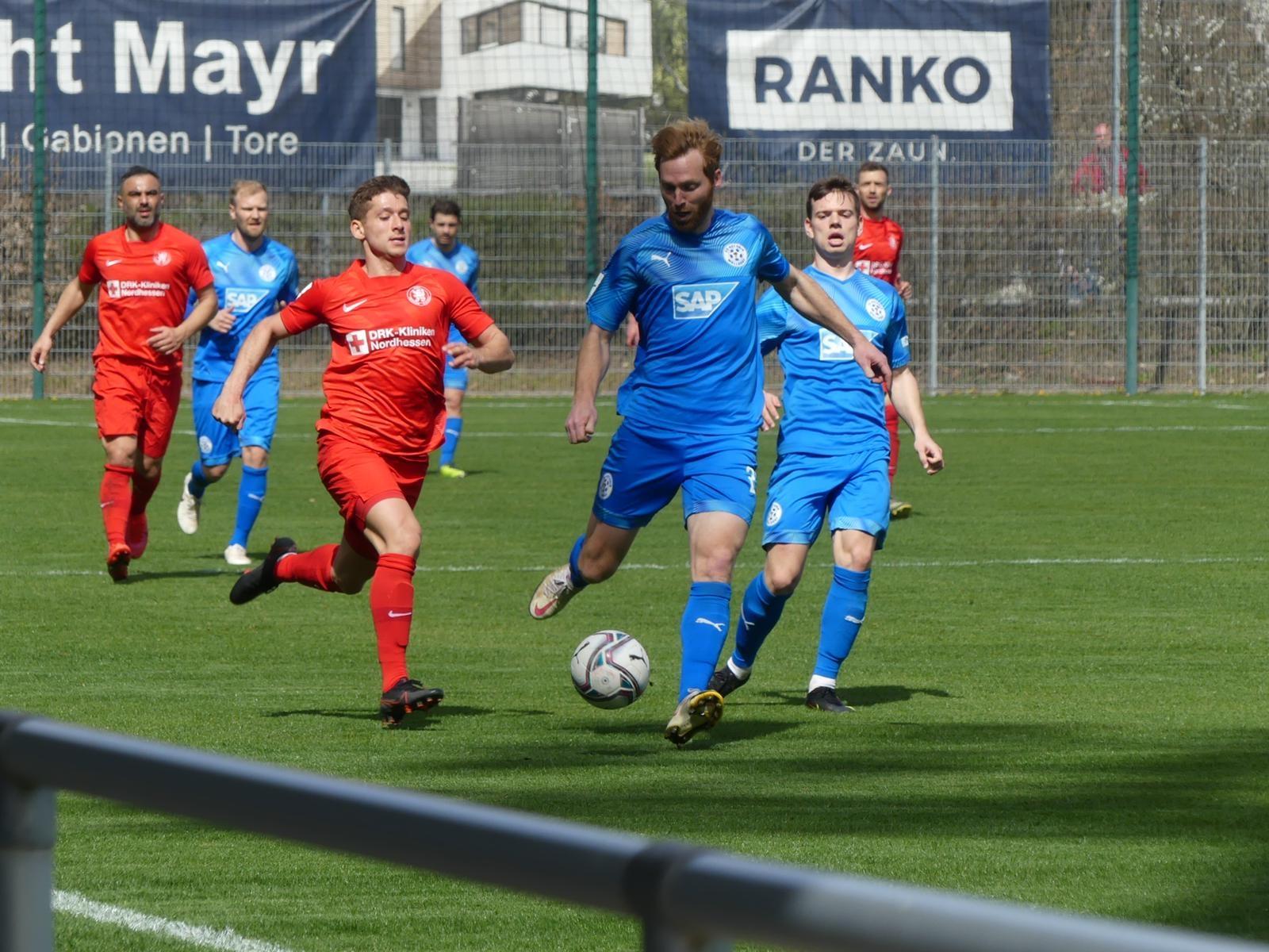 FC Astoria Walldorf - KSV Hessen Kassel: Serkan Durna