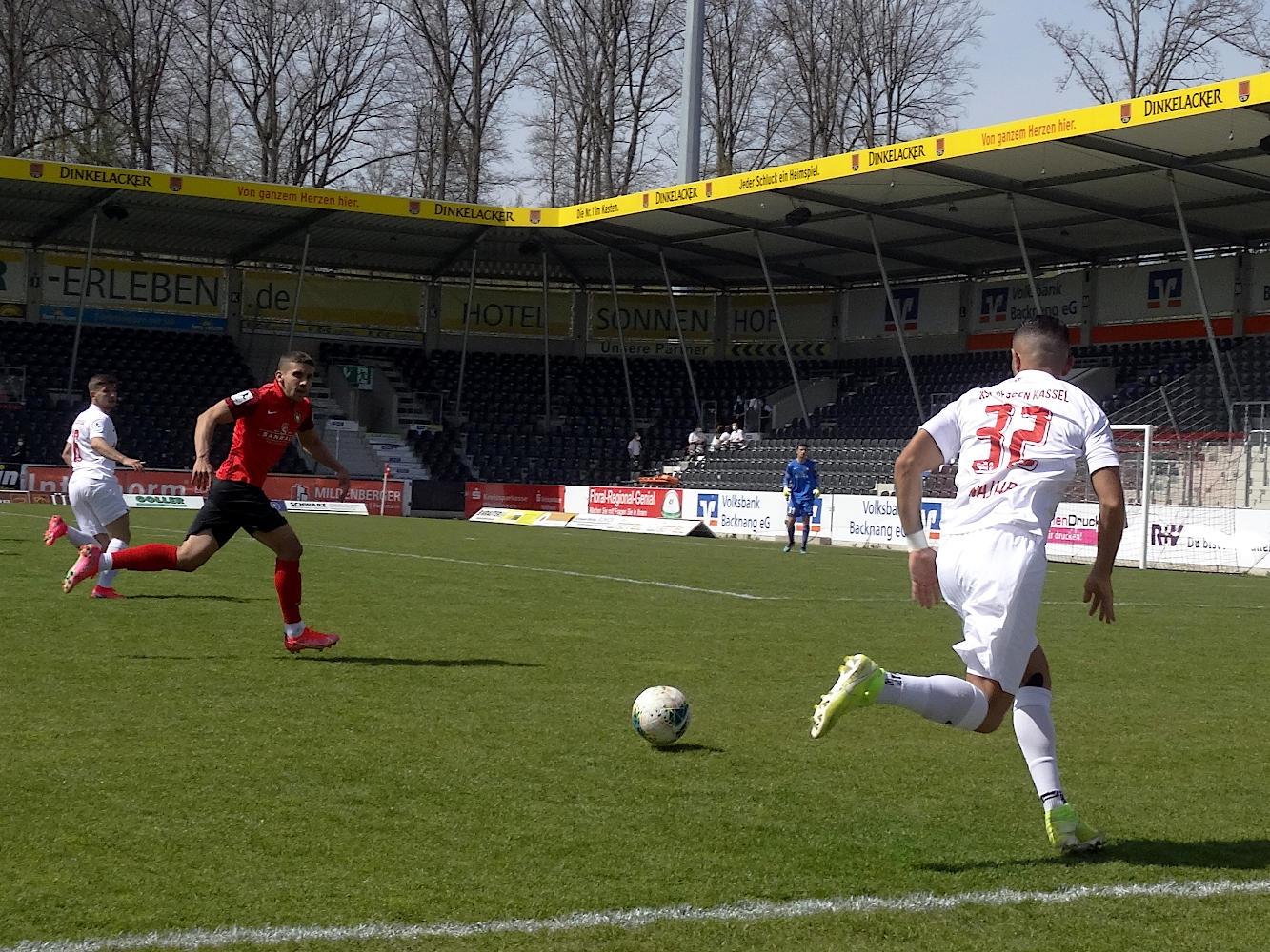 SG Sonnenhof Großaspach - KSV Hessen Kassel