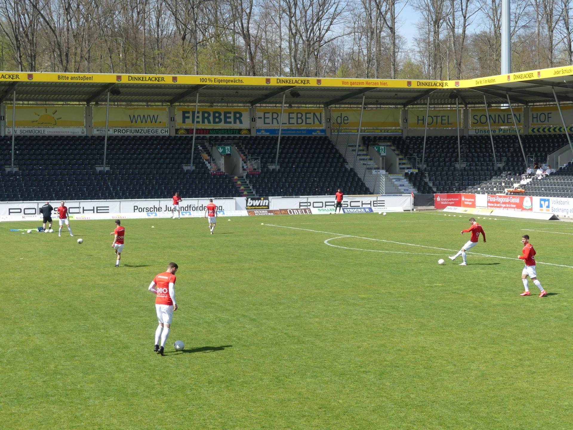 SG Sonnenhof Großaspach - KSV