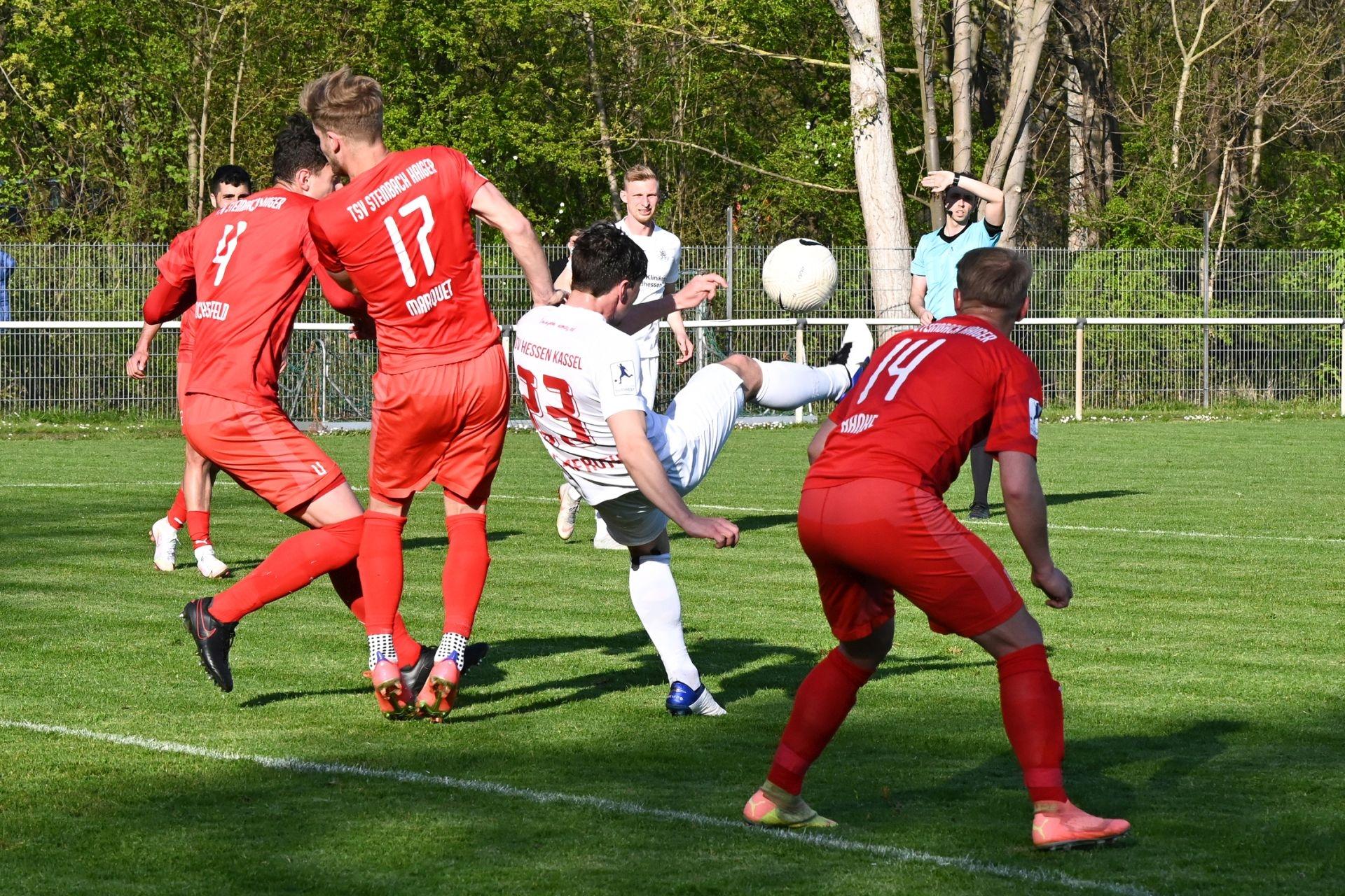 Bitburger-Hessenpokal, KSV Hessen Kassel, TSV Steinbach Haiger, Endstand 0:3