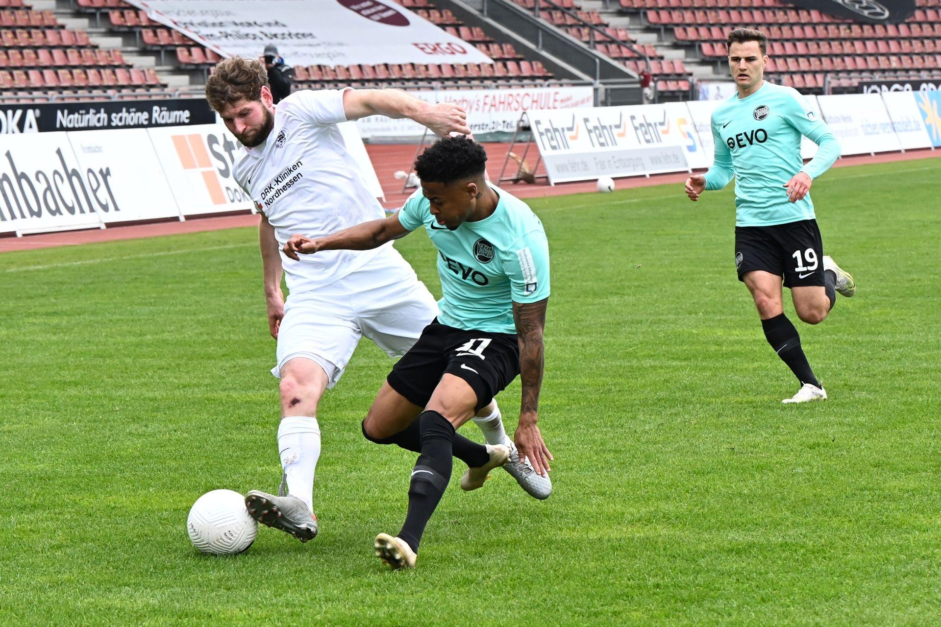 Regionalliga S�dwest 2020/21, KSV Hessen Kassel, Kickers Offenbach, Endstand 0:4