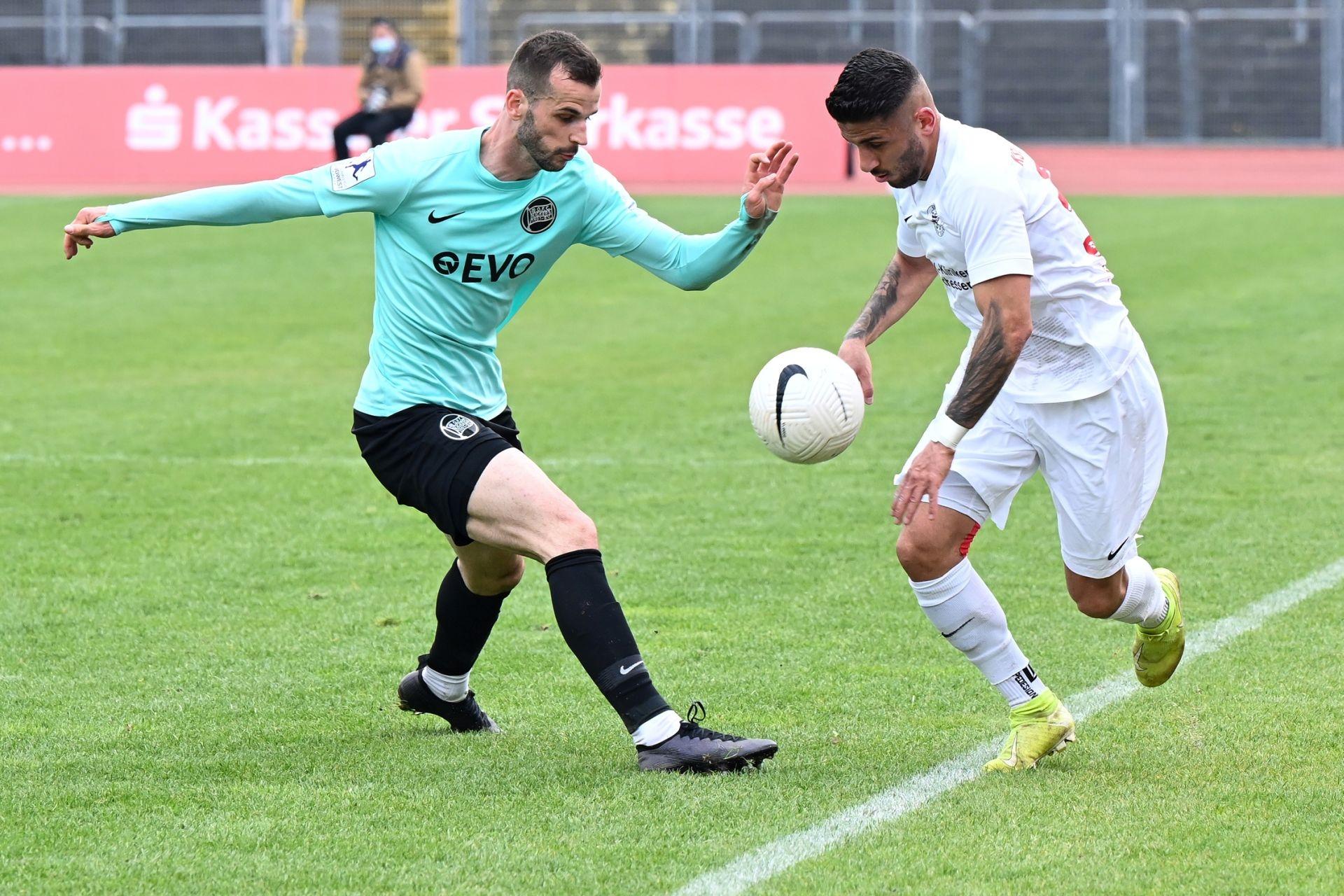 Regionalliga Südwest 2020/21, KSV Hessen Kassel, Kickers Offenbach, Endstand 0:4, Najjar