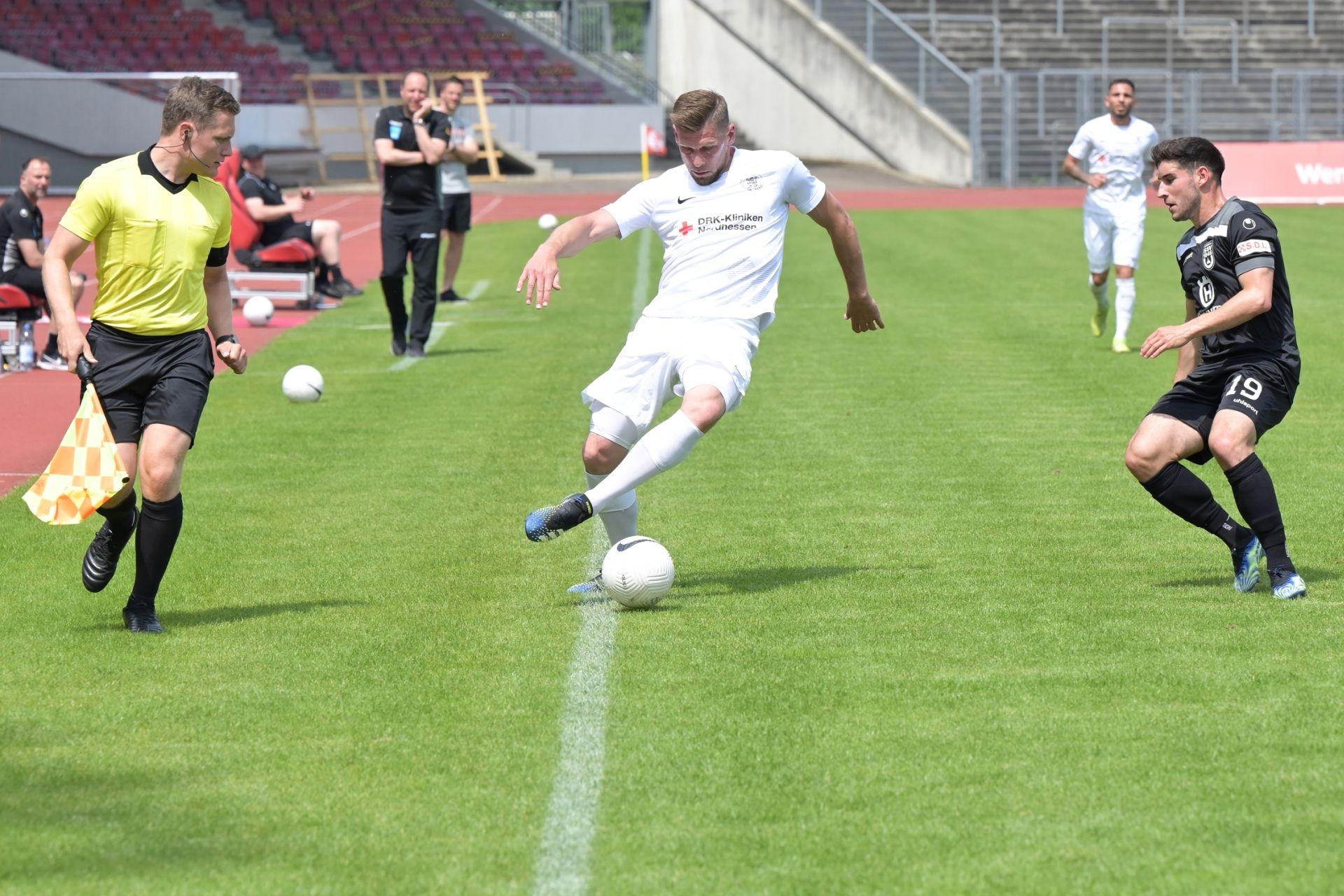 Regionalliga S�dwest 2020/21, KSV Hessen Kassel, SSV Ulm 1846, Endstand 3:1