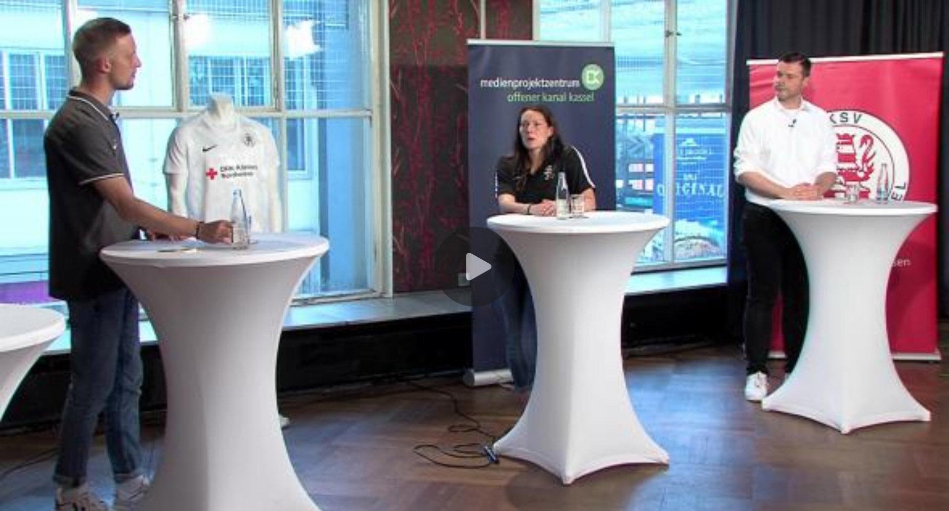 """Talk """"Es lebe der Sport"""" im Offenen Kanal Kassel"""