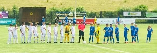 U12 Testspiele Eichsfeld