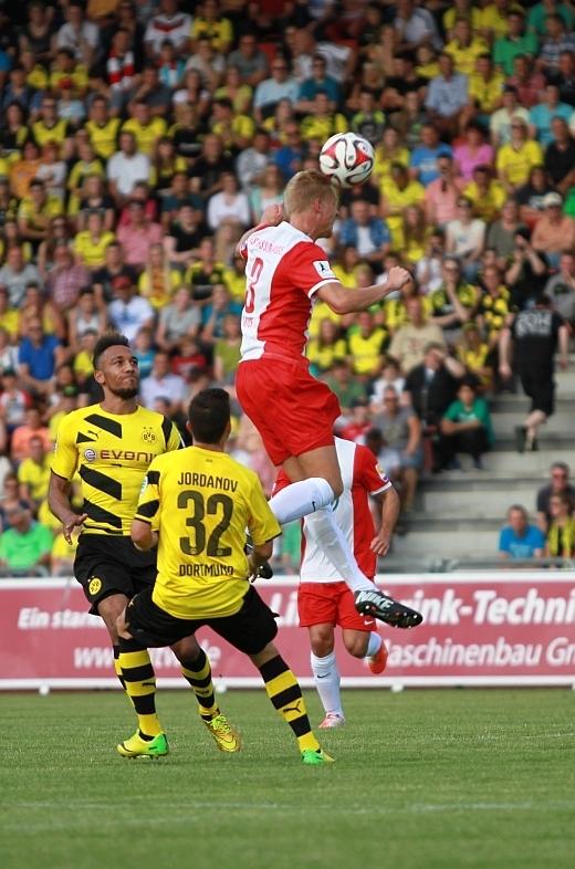 Steffen Friedrich - Spiel gegen Borussia Dortmund