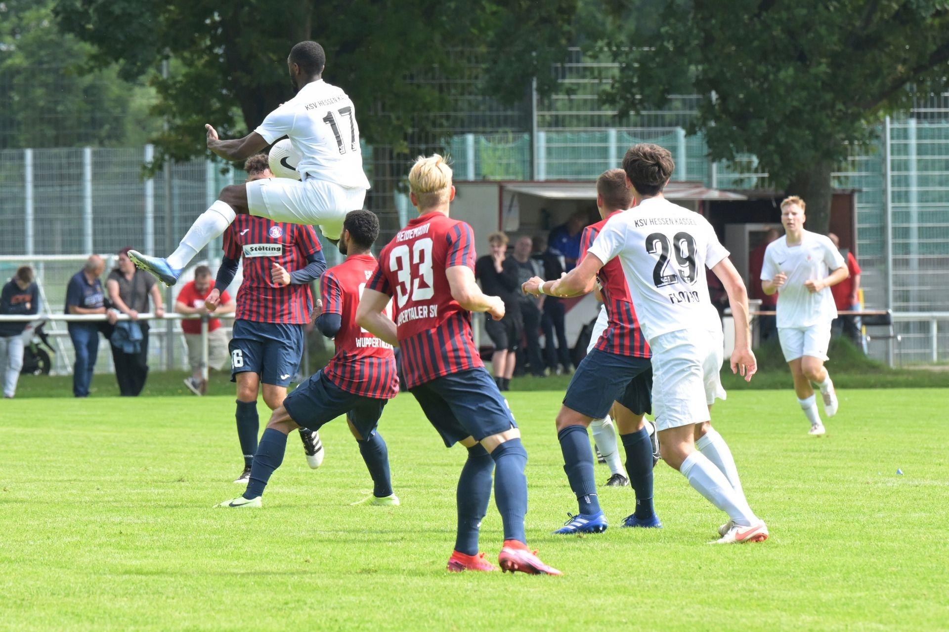 KSV Hessen Kassel, Wuppertaler SV, Endstand 4:0