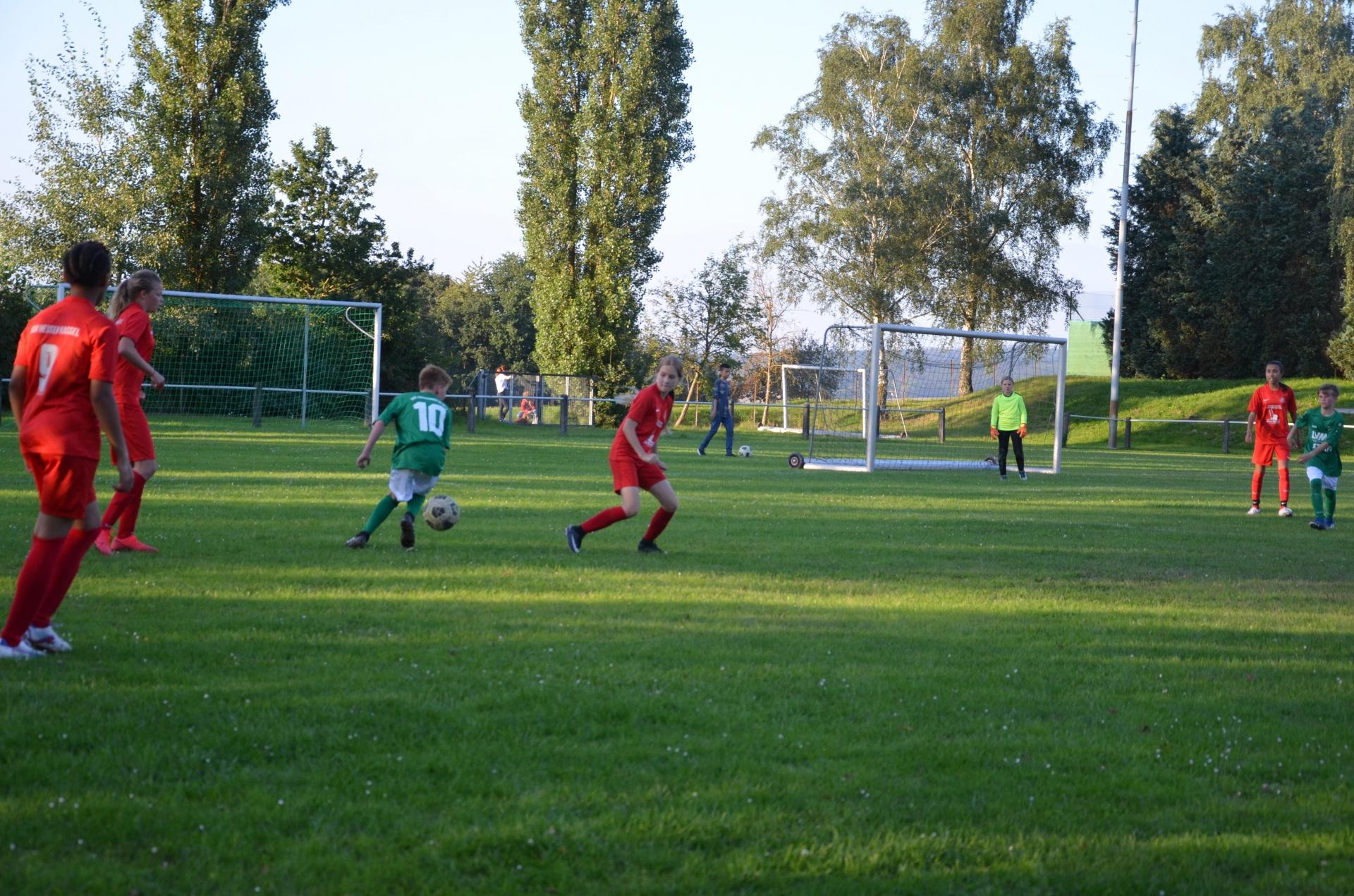 JSG Edermünde (D-Junioren) - C-Juniorinnen
