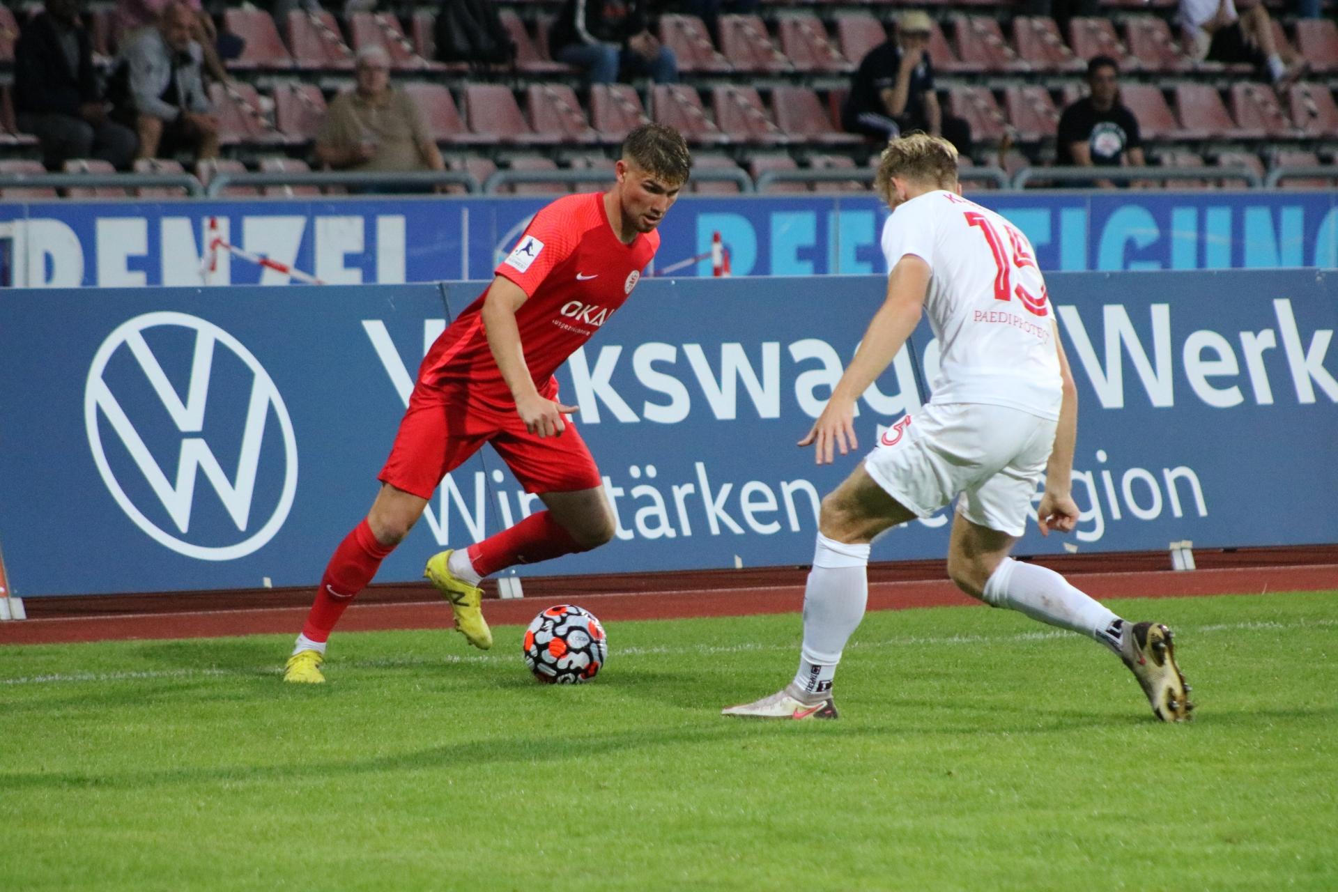 KSV Hessen Kassel - Kickers Offenbach