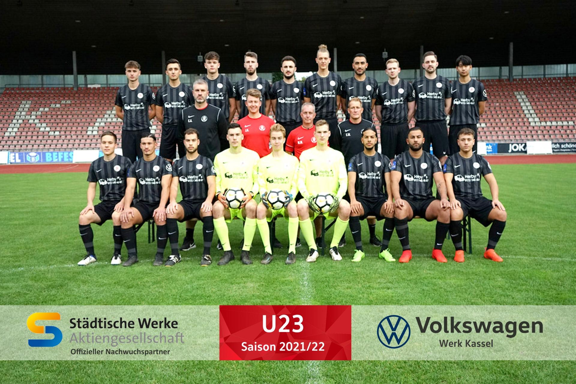 U23 Mannschaft 2021_22