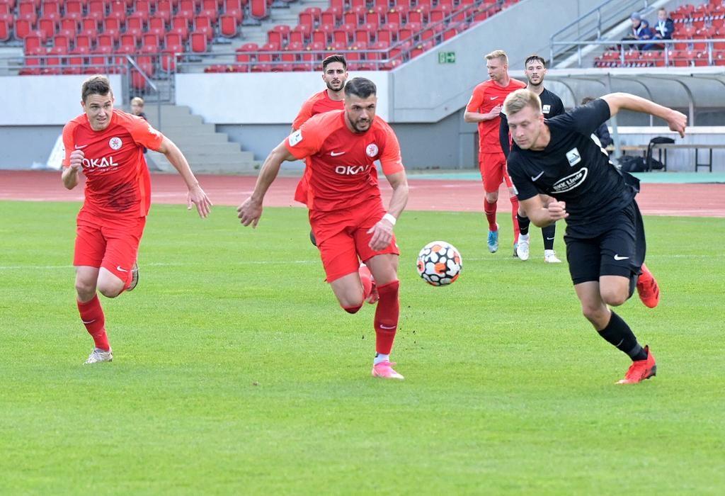 Verdienter 2:0-Heimspielerfolg gegen Schott Mainz
