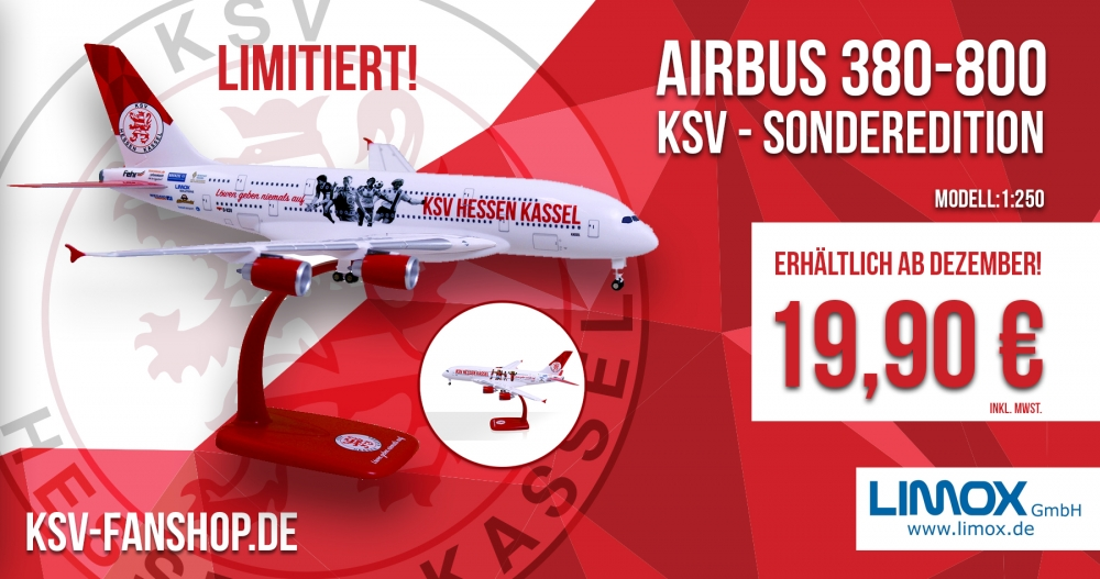 Airbus 380-800 als KSV-Sonderedition